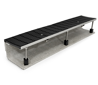 polymer concrete perimeter drain external level threshold product thumbnail